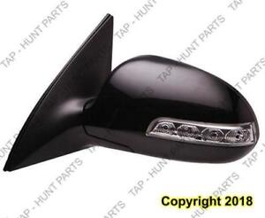 Door Mirror Power Driver Side Heated Signal Wagon  Hyundai Elantra Touring 2009-2012