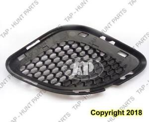 Grille Lower Outer Front Driver Side Matt-Black Srt-8 Jeep Grand Cherokee 2012-2013