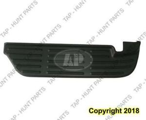 Bumper Rear Upper Step Pad Black Passenger Side  Ford F250 F350 F450 F550 1999-2003