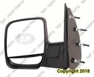Door Mirror Manual Driver Side With Dual Glass Ford Econoline 2002-2007