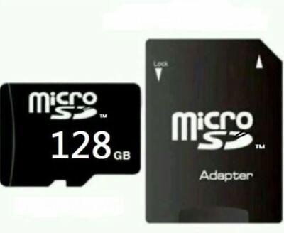 MICRO SD-Karte 128GB CLASS 10 MEMORY CARD 128GB MIT ADAPTER MICRO-SD CARD