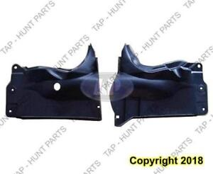Undercar Shield Outer Driver Side Mazda 3 2004-2009