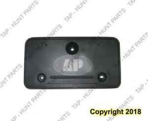 License Plate Bracket Front (Use With Chrome Bumper) 03-07 Ford Econoline 2003-2007