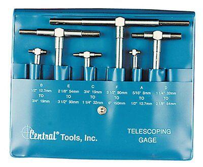 Central Tools 6554 6 Piece Telescoping Gauge Set