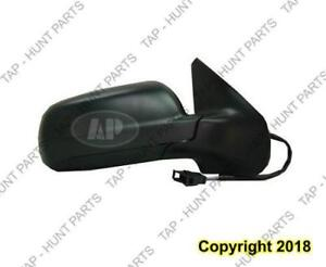 Door Mirror Power Passenger Side Heated Blue Glass Volkswagen Jetta City 2007-2009
