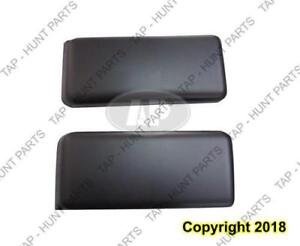Bumper Side Pad Set Front Textured Fits All Ford F150 2009-2014