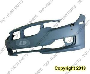 Bumper Front With Sensor/Wash/Aid Without Cam Hole With Moulding Hole Primed [Sedan 2012-2015] [Wagon 2014-2015] CAPA BM