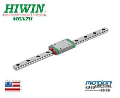 New Hiwin Mgn7h Linear Guides Mgn Series Linear Bearings 25mm To 595mm Long
