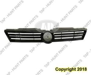 Grille Black Sedan Exclude Hyb/Gli Volkswagen Jetta 2011-2014