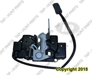 Hood Latch With Alarm System Mazda 3 2010