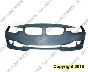 Bumper Front Without Sensor/Wash/Cam/Aid Hole Without Moulding Hole Primed [Sedan 2012-2015] [Wagon 2014-2015] BMW 3-Ser