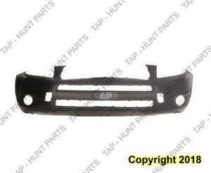 Bumper Front Primed With Flare Sport/Limited Model Toyota Rav4 2006-2008