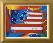 Peter Max Flag