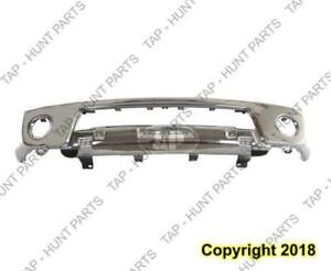 Bumper Face Bar Front Chrome Without Fog Lamp Hole Without Off Road Steel Nissan FRONTIER 2005-2017