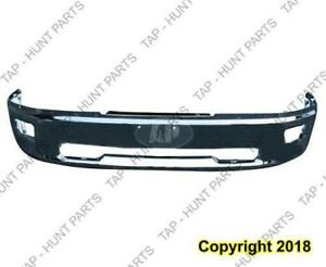 Bumper Front Face Bar Chrome With Fog Lamp Hole Without Sport Ram 1500 Dodge Ram 2009-2012