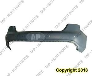 Bumper Rear With Sensor Hole Primed With S-Line Audi A4 2009-2012