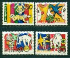 Circus Swiss Stamps