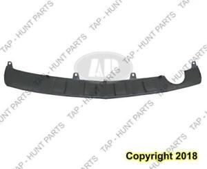 Bumper Rear Skid Plate Primed With Single Exht Saturn Vue 2008