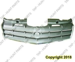 Grille Chrome Silver Without Sports Cadillac SRX 2006-2009