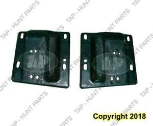 Bumper Bracket Front Passenger Side Without Tow Hooks Beam To Frame Steel 1500 Dodge Ram 2002-2005