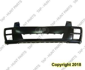 Bumper Front With Head Lamp Wash Hole Primed Cadillac STS 2008-2011