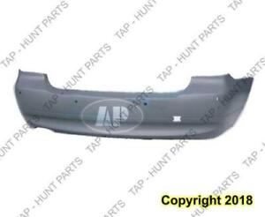 Bumper Rear Primed With Sensor Without M Package For Gas Model Sedan BMW 3-Series 2006-2008