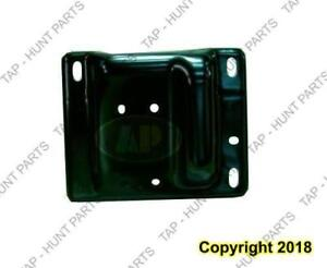 Bumper Bracket Front Driver Side Without Tow Hooks Beam To Frame Steel Exclude 1500 Dodge Ram 2009-2012
