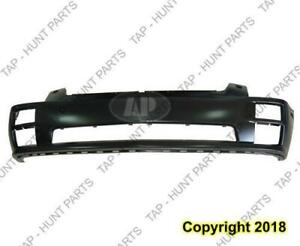 Bumper Front With Head Light Wash Hole Primed Cadillac STS 2005-2007