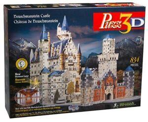 Casse tête Puzzle 3D Château de Neuschwanstein Wrebbit