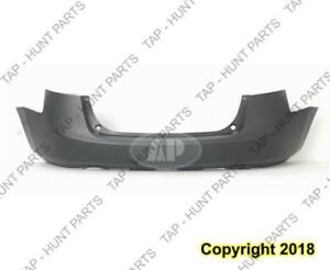 Bumper Rear Primed S/Sl With Lower Textured Nissan ROGUE 2008-2013