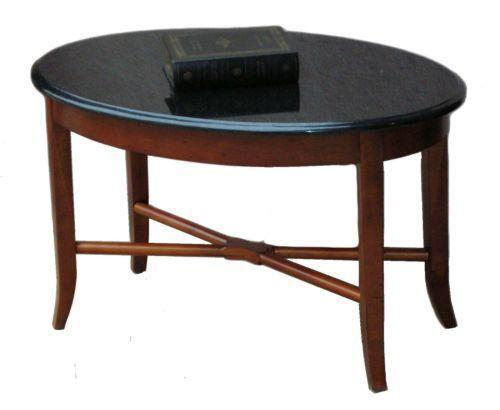Vintage Round Marble Top Coffee Table