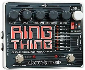 NEW EH RING THING MODULATOR PEDAL ELECTRO-HARMONIX GUITAR EFFECTS PEDAL - INSTRUMENT MUSIC GUITARS 106726893