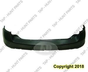 Bumper Rear With Sensor Primed Ford Edge 2011-2014