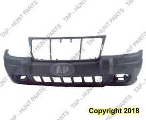 Bumper Front Textured Laredo With Fog Light Hole Jeep Grand Cherokee 1999-2003