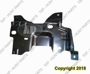 Bumper Mounting Plate Front Passenger Side Ford F150 2009-2014
