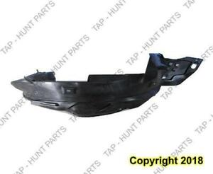 Fender Liner Passenger Side Dx Hf Ex Lx Sedan Honda Civic 2012