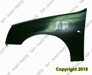 Fender Front Driver Side (With Side Lamp Hole) Steel Cadillac STS 2005-2007