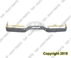 Bumper Rear Chrome Without Sensor Hole Le/Se Steel Nissan Titan 2004-2006