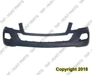 Bumper Front Primed Without Sensor Without Headlamp Washer Hole Without Sport Package Mercedes M-Class 2009-2011