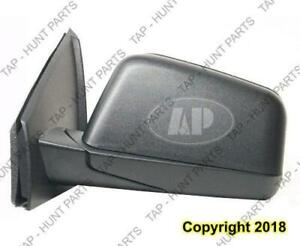 Door Mirror Power Driver Side Textured Ford Edge 2007