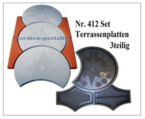 Terrassenplatten Schwarz Gehwegplatten & Steine
