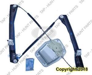 Window Regulator Front Passenger Side Power For 4 Door Volkswagen GTI 2006-2009