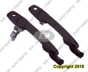Door Handle Outer Front Passenger Side With Key Hole Without Keyless Entry Ptm Mazda 3 2004-2009