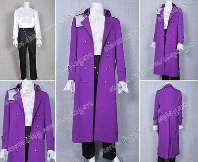 Purple Rain Prince Cosplay costume Prince Rogers Nelson Kostüme Purpur Mantel ()