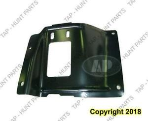 Bumper Mounting Plate Front Driver Side Steel  Ford F250 F350 F450 F550 2005-2007