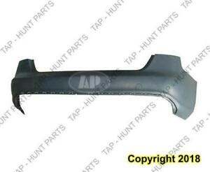 Bumper Rear Without Sensor Hole Primed With S-Line CAPA Audi A4 2009-2012