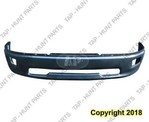 Bumper Front Primed 09-12 1500 Without Sport With Fog Lamp Hole Dodge Ram 2009-2012