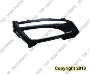 Fog Light Bezel Passenger Side Matt-Black Korea Built Kia Optima 2011-2013