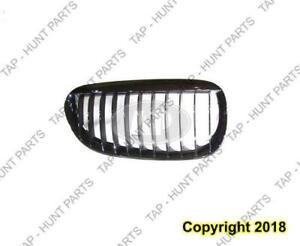 Grille Passenger Side Chrome/Black BMW 6 Series 2004-2010