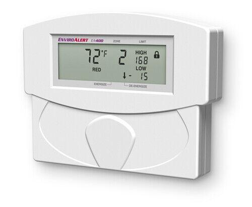 Winland EnviroAlert EA400-12 Four Zone Digital Monitor Alarm Enviro Alert NEW!!